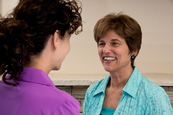 Individual counseling with Judy